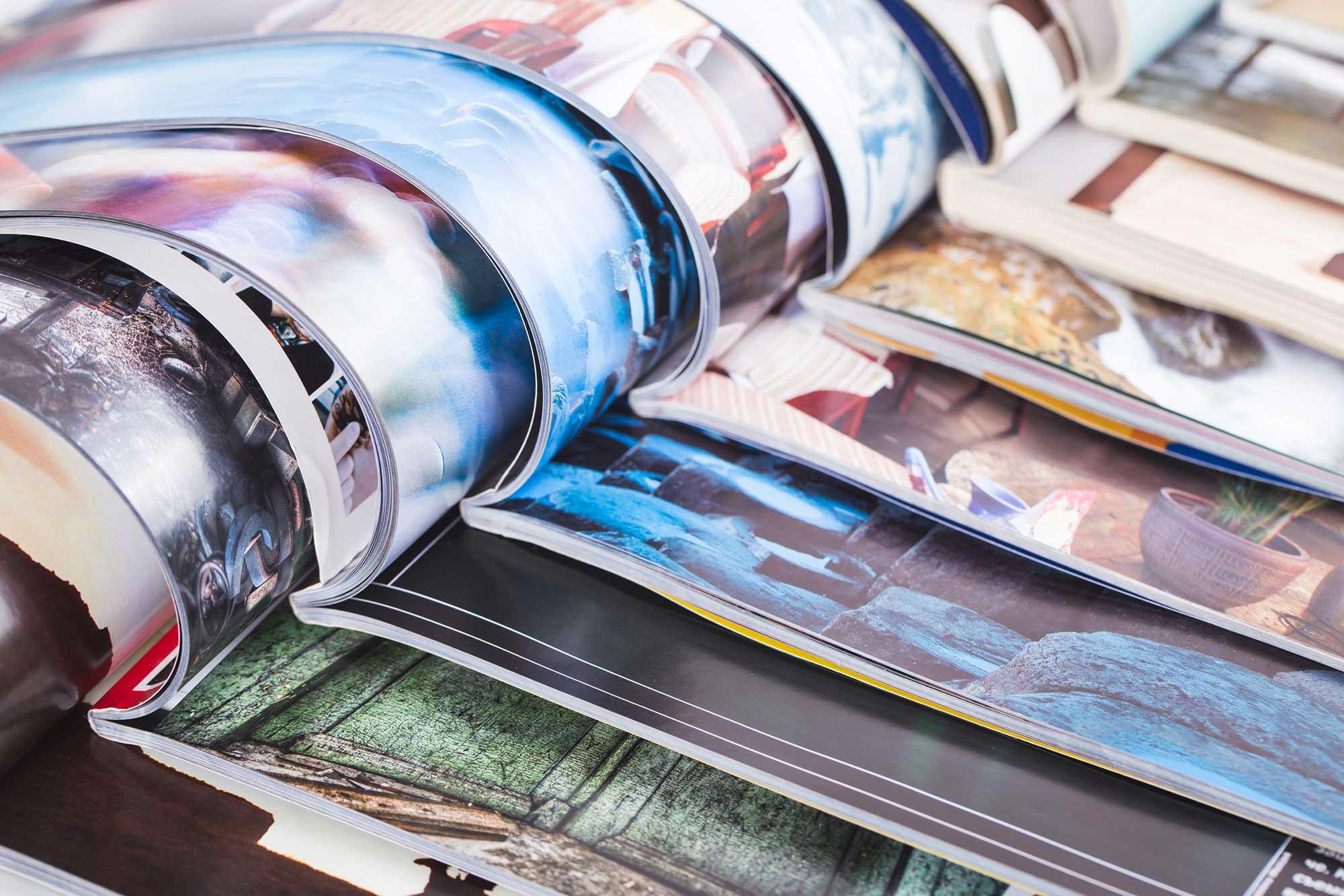 Layout und Print, Gestaltung und Druckabwicklung