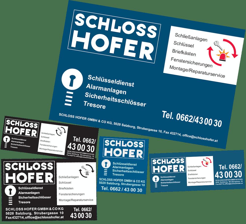 Anzeigenmanagement für Schloss Hofer, Mediaplanung vom Werbenetzwerk